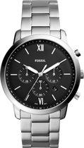 Fossil Zilverkleurig Mannen Horloge FS5384