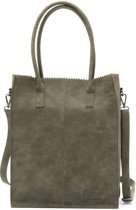 Zebra Trends Natural bag Kartel Rosa green