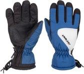 Kobalt/zwart/witte wintersport handschoenen Starling Riva met Thinsulate vulling voor kinderen 5 (140)