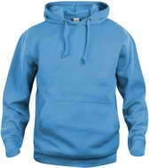 Clique Basic hoody Turquoise maat XS