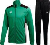 adidas Trainingspak - Maat L  - Mannen - groen/zwart/wit