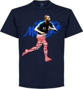 Mbappe Script T-Shirt - Navy - XL