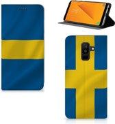 Standcase Hoesje Samsung Galaxy A6 Plus (2018) Zweden