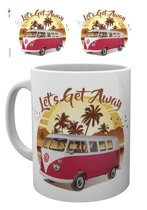 Volkswagen VW Camper Lets get Away Sunset - Mok