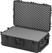 Gaffergear camera koffer 075 zwart  -  incl. plukschuim    -  54,00   x 30,60  x 30,60  cm (BxDxH)