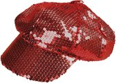 Boland Pet Sequins Dames One Size Rood
