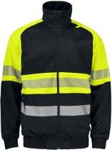 Projob 6120 Sweatshirt Geel/Zwart maat M