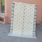 Berber Vloerkleed | Beni Ourain Vloerkleed | 222 x 162