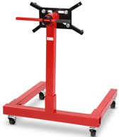 Motormontage steun, rood, motorstandaard, 450kg