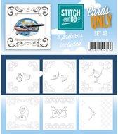 Cards Only Stitch 40