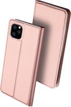 iPhone 11 Pro Max hoesje - Dux Ducis Skin Pro Book Case - Rosé-Goud