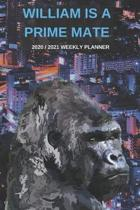 2020 / 2021 Two Year Weekly Planner For Michael Name - Funny Gorilla Pun Appointment Book Gift - Two-Year Agenda Notebook: Primate Humor - Month Calen