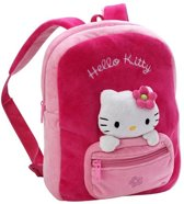 Pluche Hello Kitty tas roze