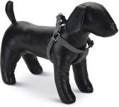 Beeztees - Borsttuig Hond - MacLeather - Grijs - 60-100 cm