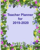 Teacher Planner for 2019-2020