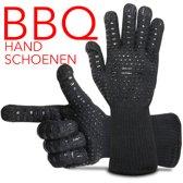 BBQ handschoenen, vlamwerend. Hittebestendig tot 800 graden. Flexibel en comfortabel.