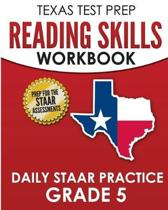 Texas Test Prep Reading Skills Workbook Daily Staar Practice Grade 5