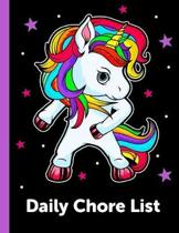 Daily Chore List: Daily and Weekly Responsibility Tracker for Kids