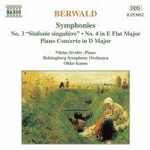 Berwald: Symphonies 3&4