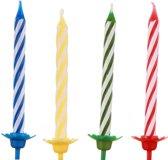 Verjaardagskaarsjes + houder