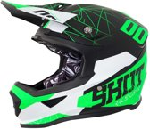 Shot Crosshelm Furious Spectre Black/Green Matt-XS