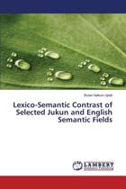 Lexico-Semantic Contrast of Selected Jukun and English Semantic Fields