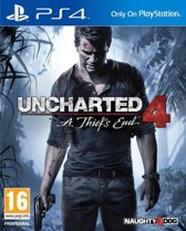 Uncharted 4: A Thief's End - PS4 (Import)