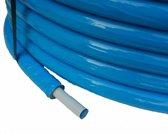 Geïsoleerde ALU-PEX meerlagenbuis 16x2mm blauw - 25meter