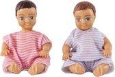 Lundby poppenhuis Set - Twee baby's