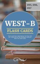 WEST-B Flash Cards Book