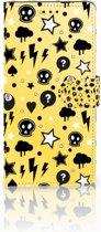 Samsung Galaxy Note 9 Uniek Boekhoesje Punk Yellow