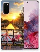Samsung Galaxy S20 Siliconen Back Cover Amsterdamse Grachten