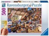 Ravensburger puzzel Oma's zolder - legpuzzel - 500 stukjes