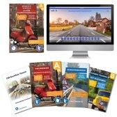 Theorieboek Scooter 2020 Rijbewijs B | Bromfiets Theorieboek | Brommer Theorie Samenvatting | Verkeerborden overzicht | Praktijk informatie | CD-ROM met scooter theorie-examens |