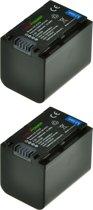 ChiliPower NP-FV70 1900mAh accu - 2 stuks verpakking