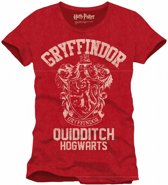 HARRY POTTER - T-Shirt Griffindor Qhidditch - Red (XXL)