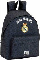 Real Madrid Printed Dark Grey Rugzak - 40 cm - Grijs