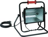Kelfort Halogeenbouwlamp 500W 5 meter kabel variabele standaard klasse 2 (Prijs per stuk)