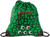 Zebra Gymtas met rits - Turtle Green