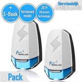 Ultrasone muizenverjager met E-Book - Veilig ratten bestrijden/verjagen - Anti Muizenplaag - Blauw