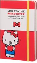 Moleskine notitieboek Hello Kitty - Pocket - Hard cover - Gelinieerd