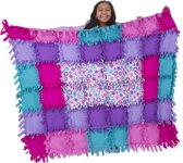 Flower Fleece Quilt