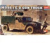 Academy M998 I.E.D. Gun Truck