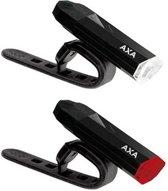 Axa Sport High Power LED - Verlichtingsset - USB - Zwart