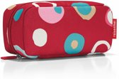 Reisenthel Multicase Toilettas - Make-up etui - Polyester - 1.5L - Funky Dots 2 Rood