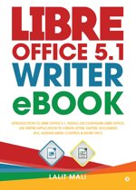 Libre office 5.1 Writer eBook