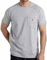Carhartt Force Cotton Heather Grey T-Shirt Heren Size : XL