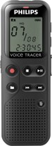 Philips DVT1100 - Digitale voice recorder - Zwart
