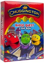 3-DVD Box Chuggington Badge Quest
