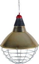 Armatuur compl. Interheat / 2.5m snoer en 2-standen schakelaar